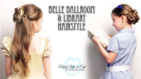 pretty hair  fun belle emma watson ballroom library