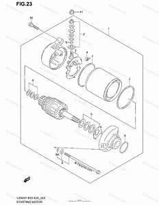 Suzuki Motorcycle 2000 Oem Parts Diagram For Starting
