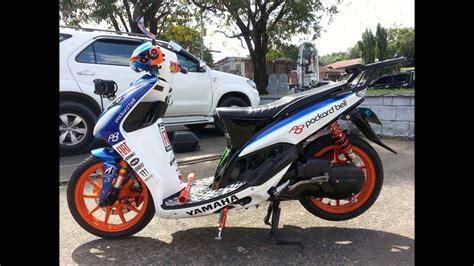 Modifikasi Mio Sporty Tahun 2008 by Modifikasi Mio Sporty Simple Modifikasi Motor Kawasaki