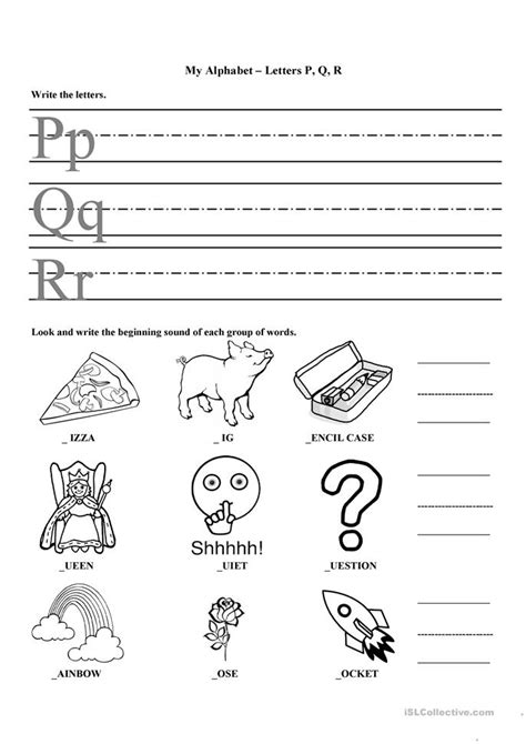 my alphabet p q r worksheet free esl printable worksheets made by teachers