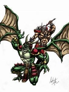 Shao Kahn vs Onaga | Mortal kombat | Pinterest
