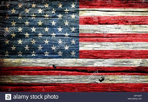 american flag   background retro effect close