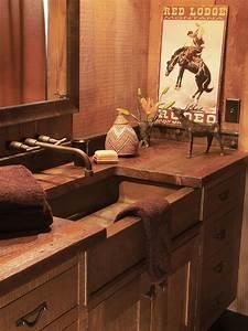 Southwestern, Bathroom, Design, And, Decor, Hgtv, Pictures