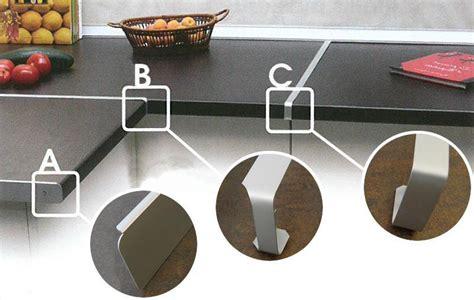 plan de travail profil plan de travail de cuisine pas ch 232 re profil alu pour plan de travail
