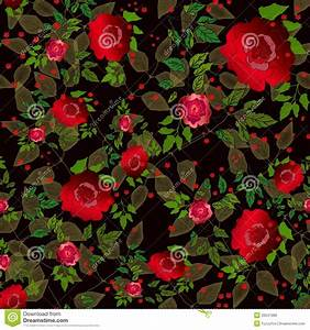 Floral Seamless Pattern Rose Royalty Free Stock Images ...