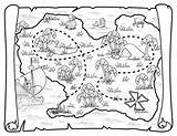 Treasure Pirate Map Coloring Pages Pirates Neverland Jake Printable Maps Deviantart Ship Toys Disney Colouring Squidoo Party Blank Birthday Sheets sketch template