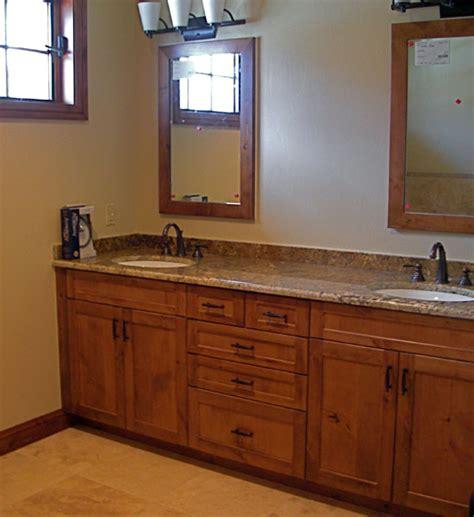 bathroom mirror knotty alder reversadermcream