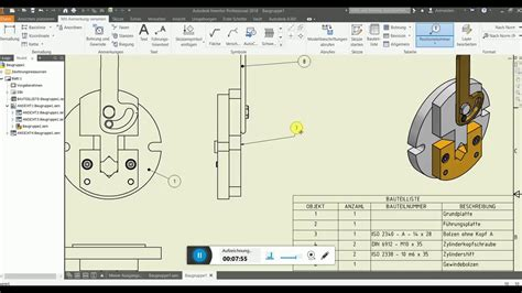 andrees inventor  tutorial  baugruppe