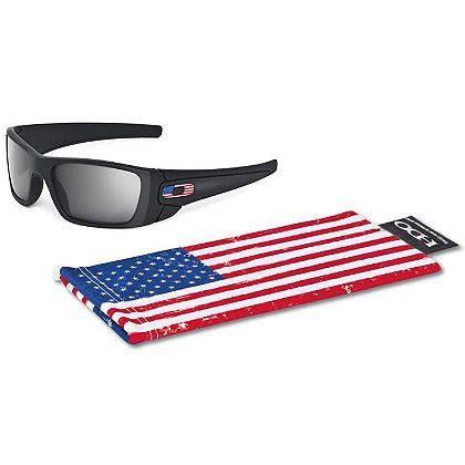 Oakley Si Fuel Cell Sunglasses W Us Flag Icon