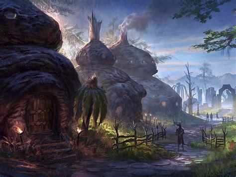 Elder Scrolls Online Exclusive Concept Art Gallery In