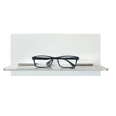 Small Single Shelf by Flight System Display Shelf Eyewear Display For