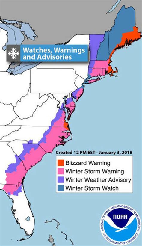 Snow Storm Grayson Path Live Storm Intensifies For Direct