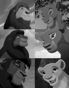 Kiara Lion King Simba and Nala