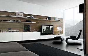 Home Design: Mesmerizing Contemporary Tv Wall Design ...