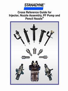 Cross Reference Guide For Injector  Nozzle Assembly  Pf
