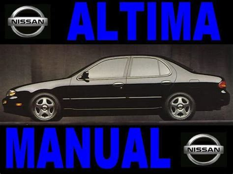 98 maxima service manual