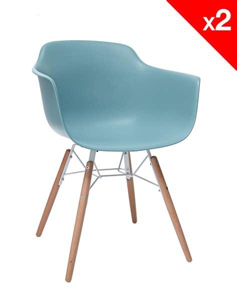 chaises accoudoirs lot de 2 chaises design avec accoudoirs kuta kayelles com