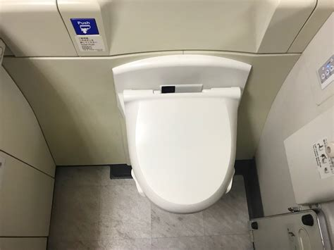 Japanese Style Bidet by Flight Review Japan Airlines 777 300er Class