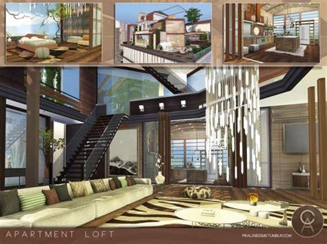 sims resource apartment loft  pralinesims sims