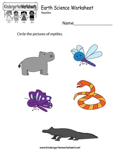 8 best images of free earth printable worksheets
