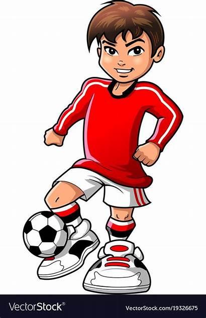 Soccer Clipart Football Boy Player Sports Teen
