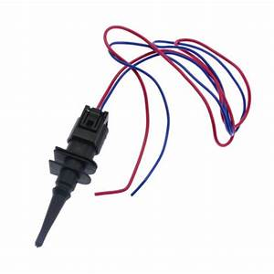 Ambient Air Temperature Sensor W   Connector Wire Fit Bmw