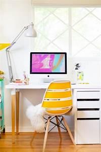 Ikea Petit Bureau : ikea hack quelques astuces originales diy pour votre bureau ~ Melissatoandfro.com Idées de Décoration
