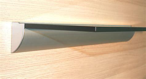 aluminium wandprofil wing glasregal 60x40 10 satiniert wandregal profil klemmleiste