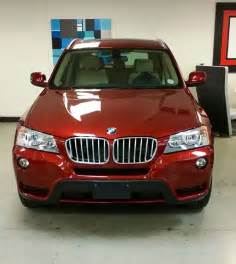 2014 BMW X3 Vermillion Red
