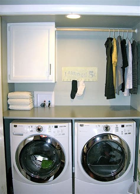best 25 washer dryer closet ideas on laundry