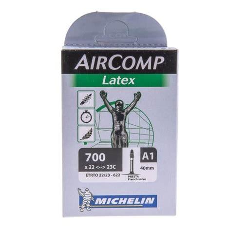 chambre à air 700x23c chambre à air michelin aircomp 700x22 23c valve 40