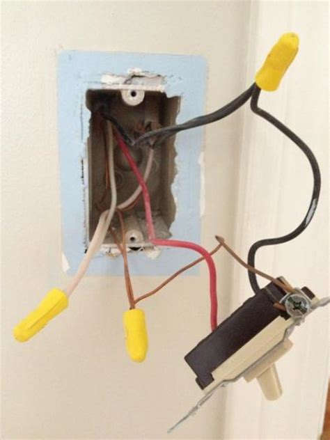 installingwiring  ceiling light tying