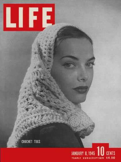 1945 Life Magazine Covers