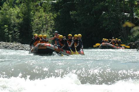 rivp siege river rafting simme jump the swiss alps
