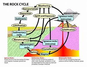 Rock Cycle Diagram   Diagram Site