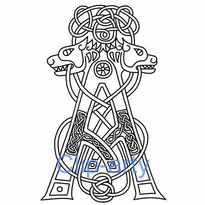 Celtic Letter Capital Drawing Letters Illuminated Alphabet