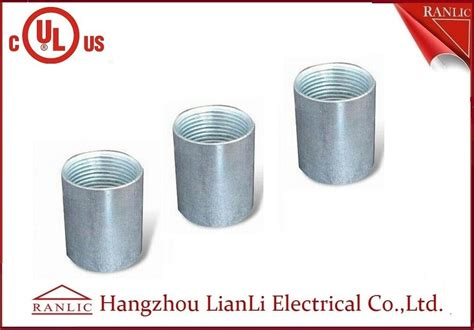 Zinc Plated Electrical Rigid Conduit Fittings Coupling