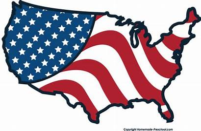 Flag American Clipart Clip Flags Country America