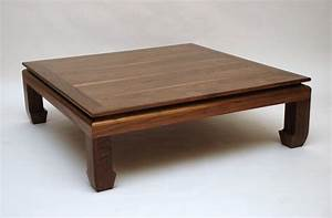 wood square coffee table - Square Coffee Tables