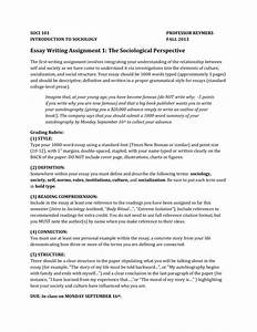 Essay On English Teacher Sociological Perspectives Essay Conclusion Environmental Science Essay also Essay For Health Sociological Perspective Essay Proposal Essay Outline Sociological  Comparison Contrast Essay Example Paper