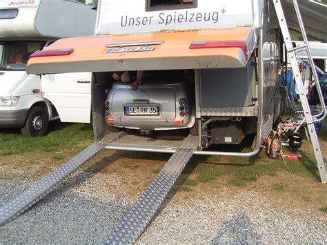 Wohnmobil Mit Cabrioverdeck + Garage Im Heck In In Hamburg