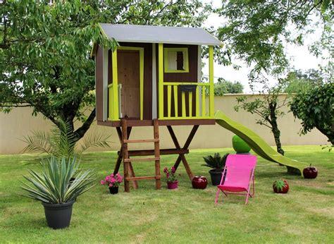 chambres dans les arbres cabane enfant dans les arbres soulet en bois jardideco