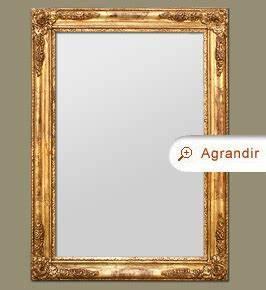 Miroir Doré Rectangulaire : miroir bois dor miroirs anciens part 4 ~ Teatrodelosmanantiales.com Idées de Décoration