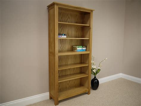 Chunky Bookcase by Solid Oakland Chunky Oak Bookcase Bookshelf Shelving