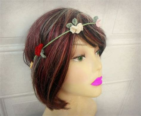 crochet hair band 17 best images about crochet hair accessories on