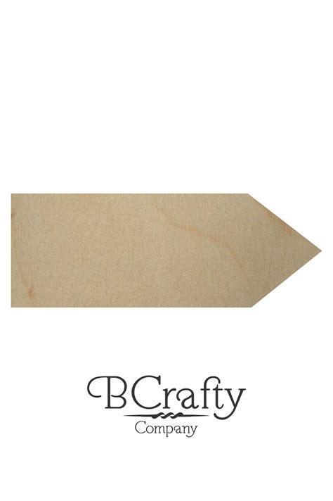 wooden pencil cutout bcrafty company