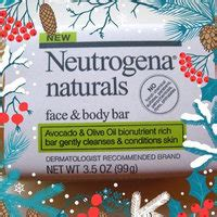 neutrogena naturals face  body bar reviews