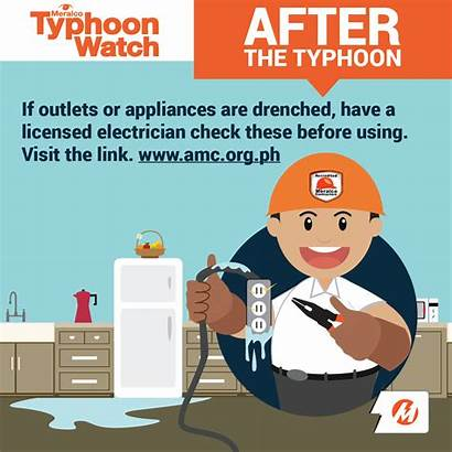 Safety Tips Typhoon Meralco Typh