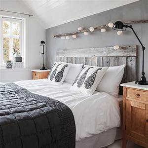 la chambre grise 40 idees pour la deco archzinefr With conseil pour peindre un mur 13 chambre taupe et couleur lin idees deco ambiance zen