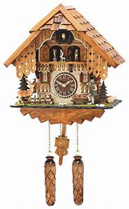Rheinberg, Cuckoo, Wall, Clock, By, Hermle